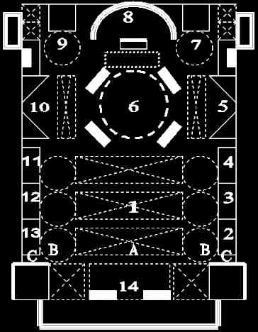 Cathédrale N.D. Nancy : plan