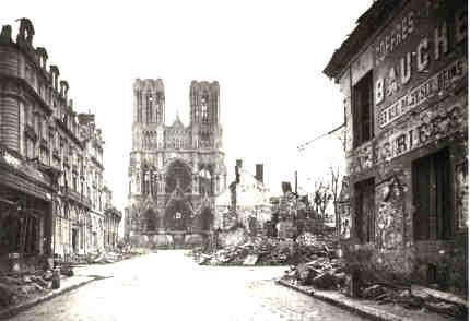 Cathedrale Reims Detruite Reims Cathédrale Notre Dame