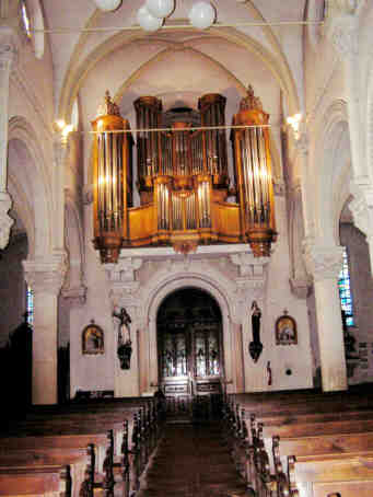 Villers les Nancy, orgue Alfred Wild, église saint Fiacre